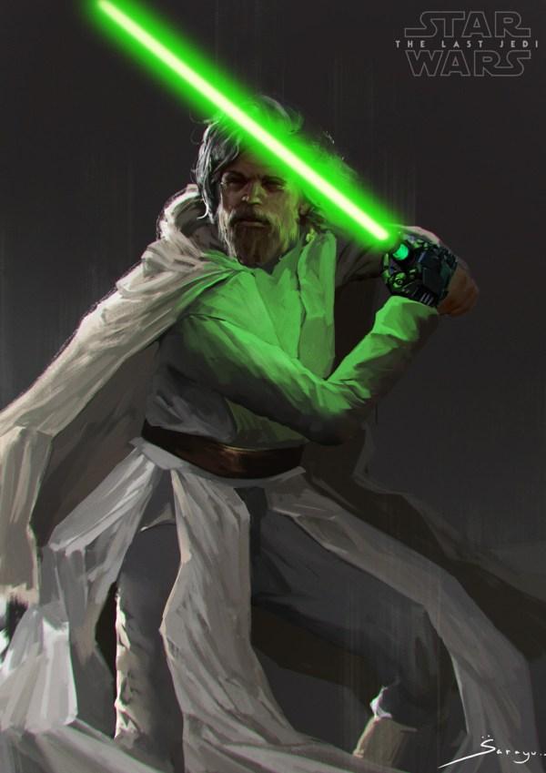 Raze Hell - Rey And Luke Skywalker Sarayu Ruangvesh