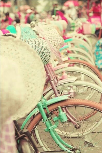 Cute Mint Blue Wallpapers Vintage Bicycle On Tumblr