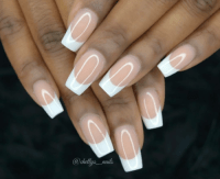 french manicure | Tumblr
