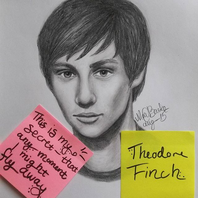 Image result for theodore finch fan art