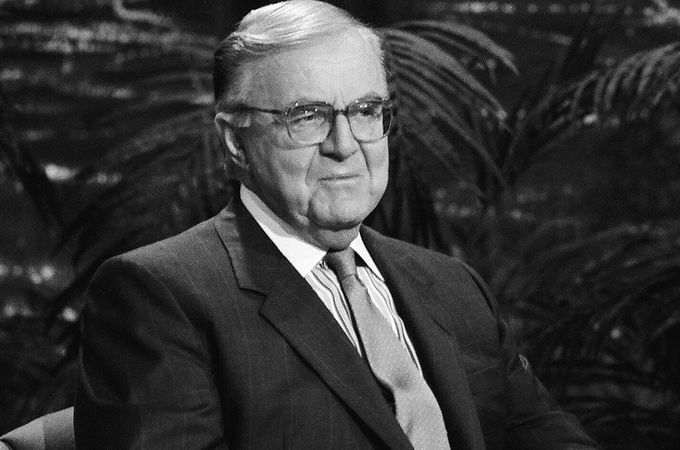 """John McLaughlin dead at 89… John McLaughlin, the stalwart political commentator who created television's """"McLaughlin Group,"""" died Tuesday at his home in Virginia. He was 89. His death came less than two days after he missed the first episode of his..."""