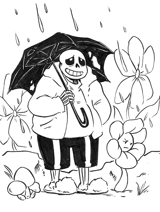 SansyBones — Sans has the occasional bad night but Paps