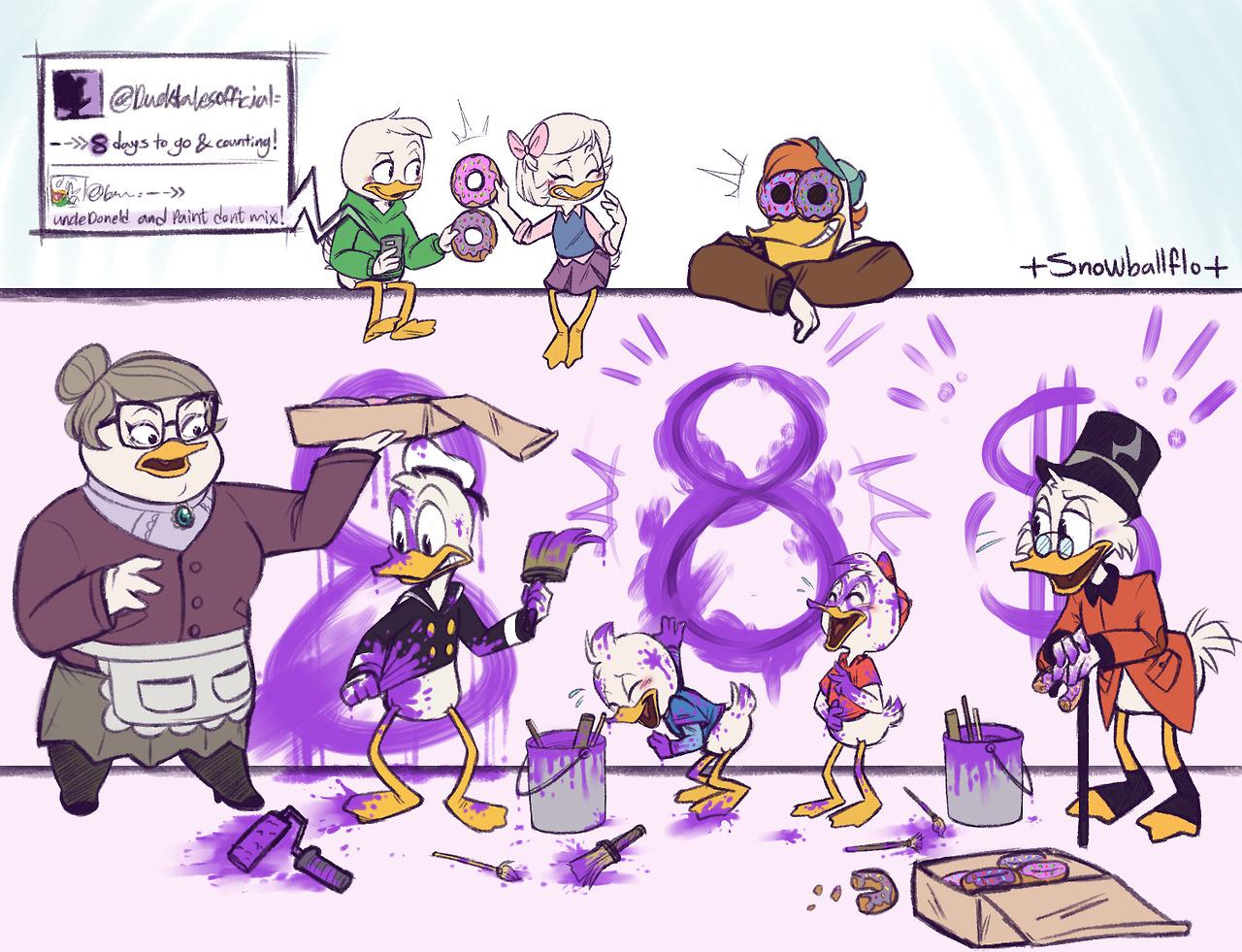Ducktaleshub 8 Days Until Ducktales Premiere By