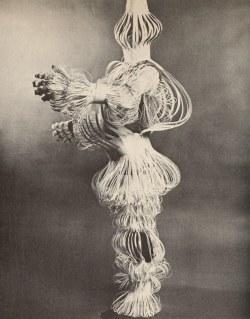 amalgammaray:Janet Boyes, Making Paper Costumes, 1974