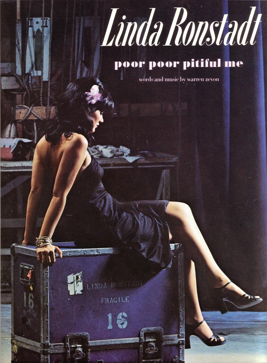 Linda Ronstadt - 'Poor Poor Pitiful Me' - released January 10, 1978