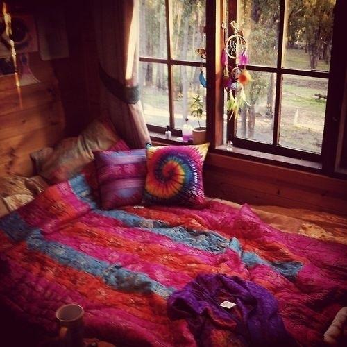 hippie bedroom on Tumblr