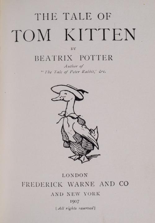 the tale of tom kitten on Tumblr