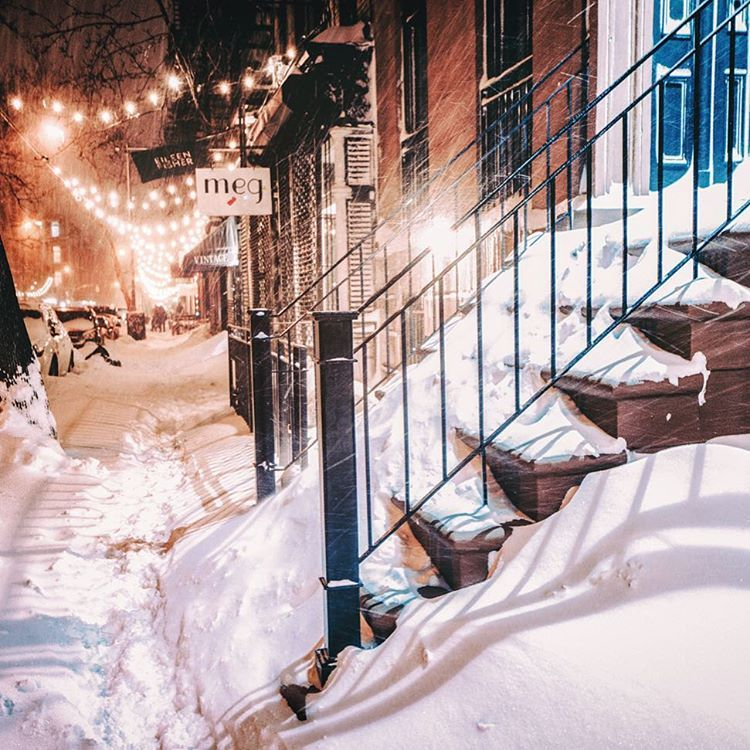 New York City Snow This is one of my favorite blocks in my neighborhood. I visit it nearly every time I photograph snowstorms in New York City. It's my happy place. ✨✨✨ A number of you have asked me if I sell my photography as prints. I do! I just...