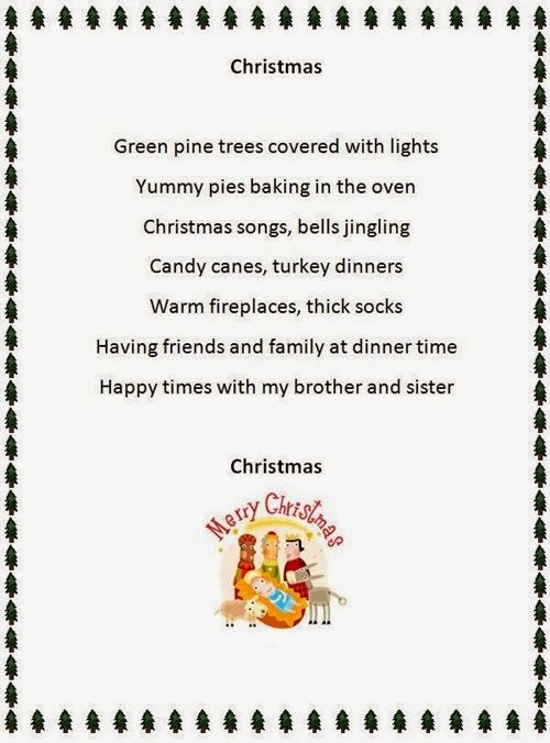 Short Christmas Poems Page 1 Of 2