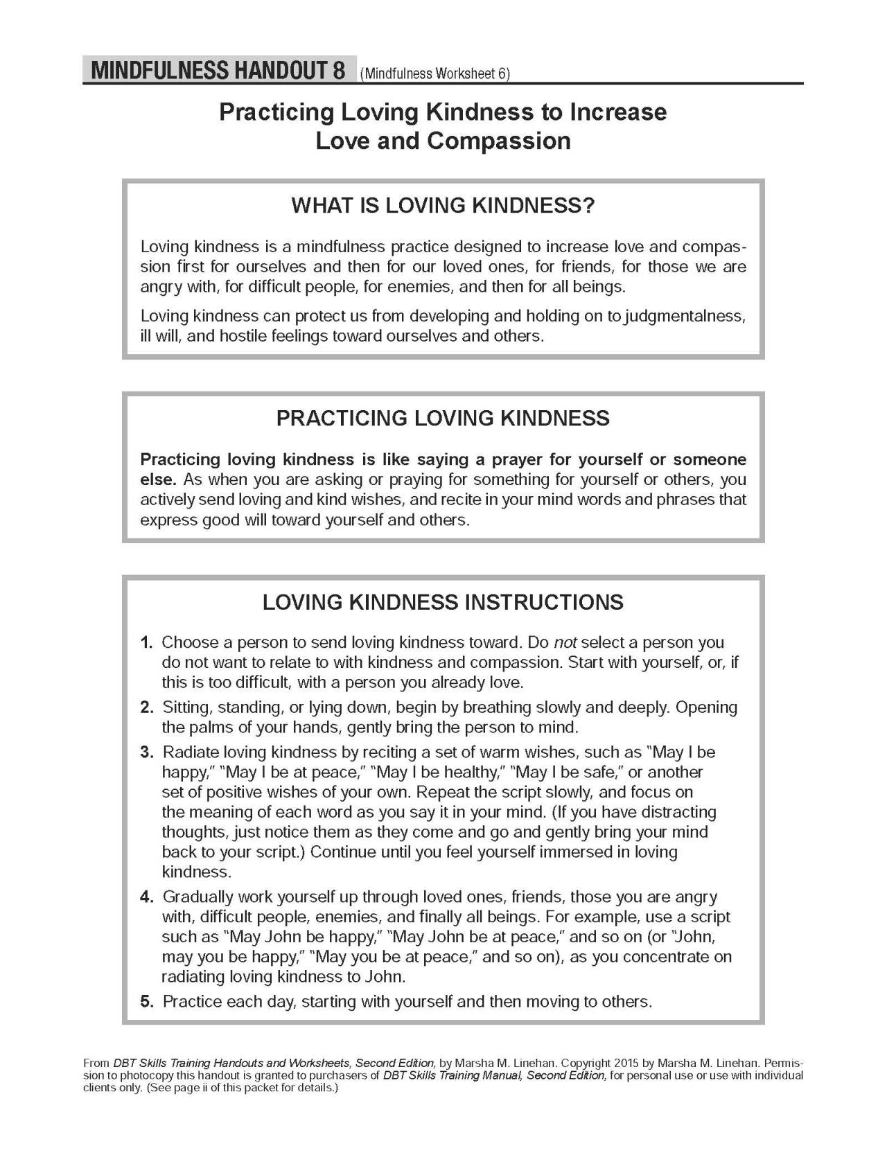 Free Dbt Worksheets Free Worksheets Library