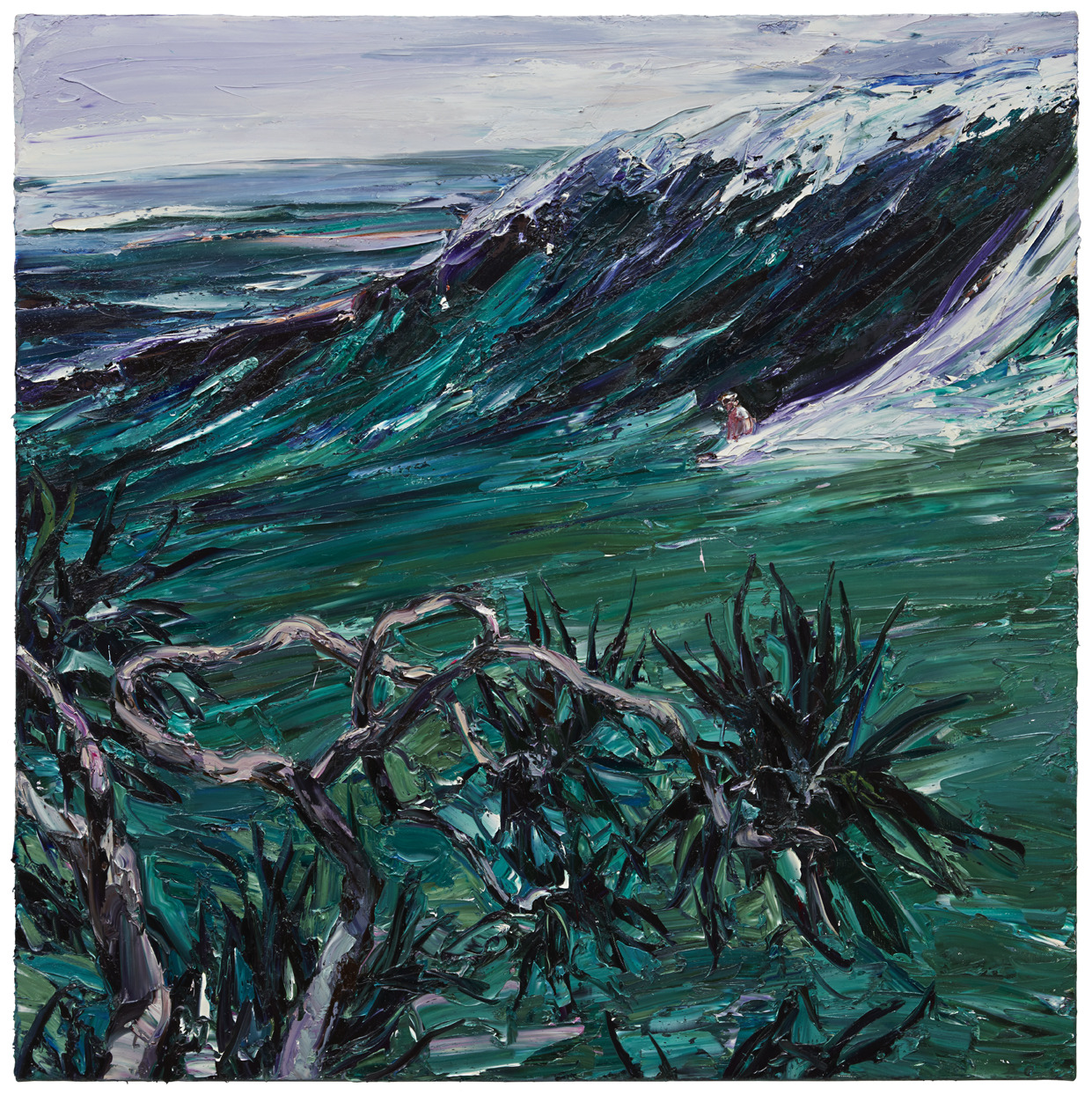 """urgetocreate: """" Nicholas Harding, 2016, oil Inspiration: Surfing With a Spoon, by Midnight Oil Info """""""