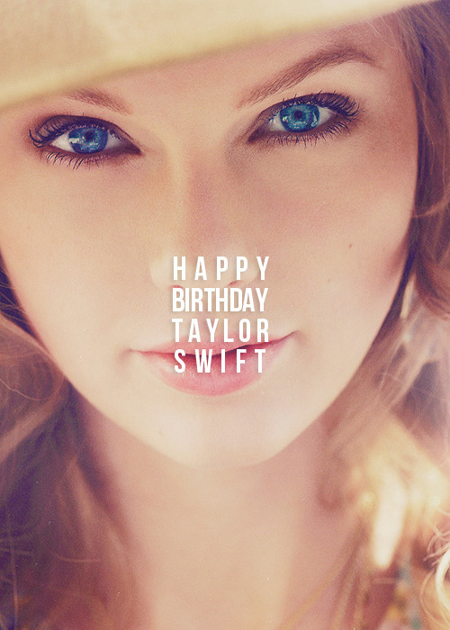 Feliz Aniversario Taylor Tumblr