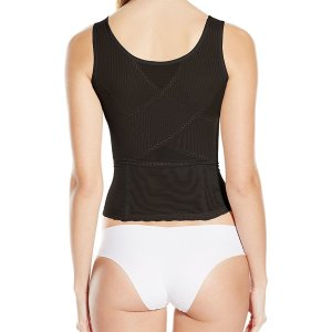 Women's Power Mesh Zip Front Cami. This is a wear your own bra power mesh cami. Zip down for…, July 17, 2017 at 02:07PM