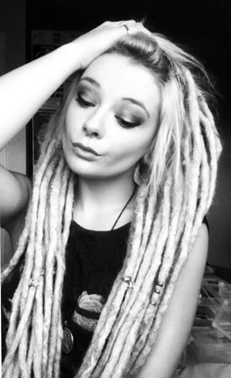 Blonde Dreadlocks On Tumblr