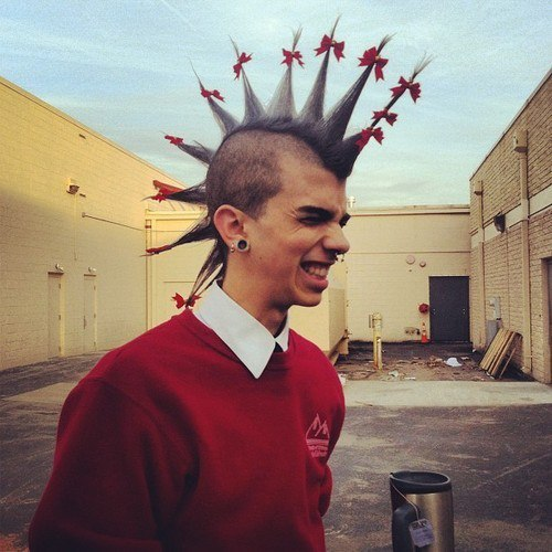 Punk Hair On Tumblr
