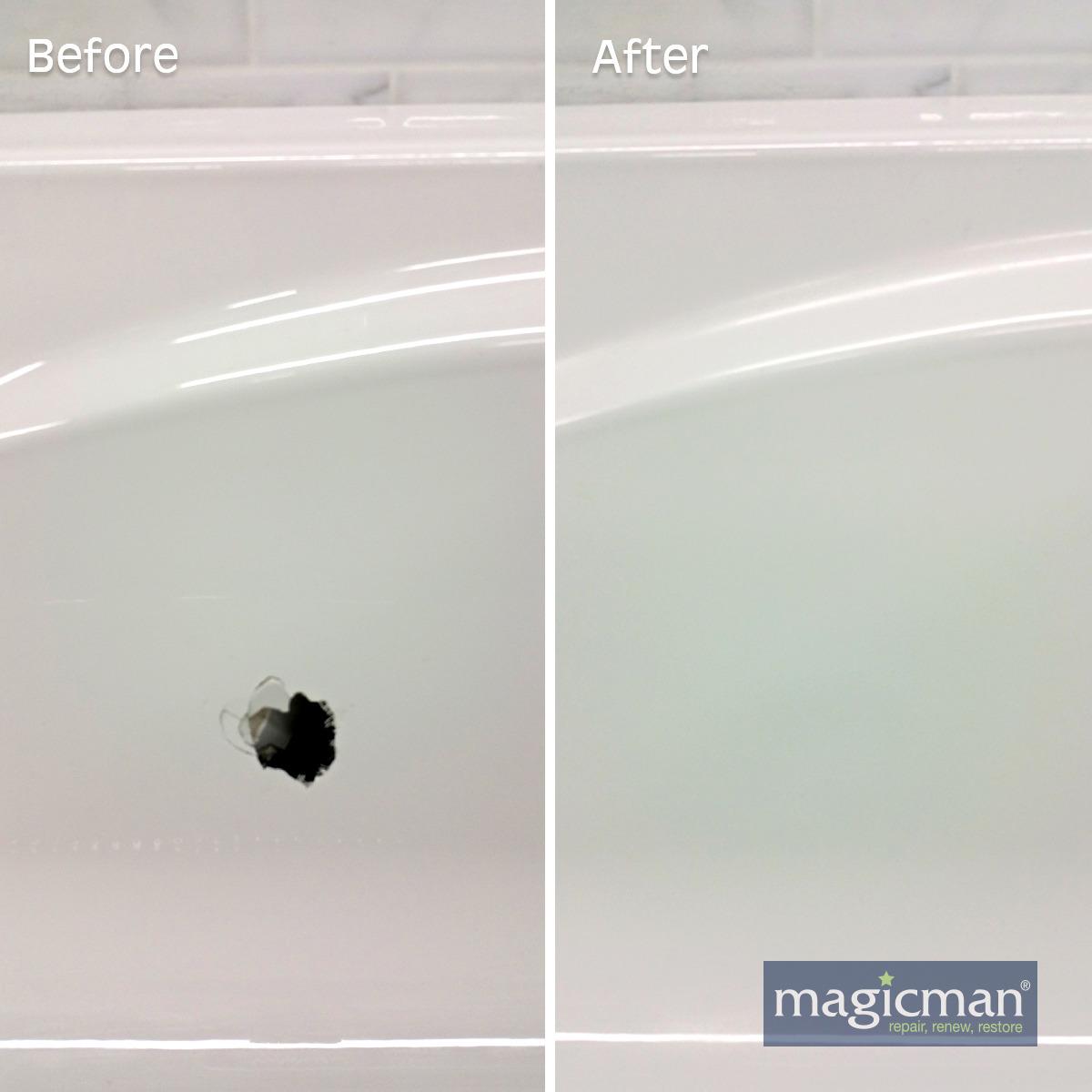 Bathtub Hole Repair Perform Your Own Rv Tub Repair To
