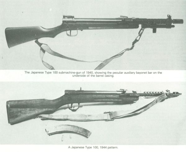 Historical Firearms Japanese Submachine Guns Like many