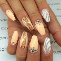 cute acrylic nail designs | Tumblr