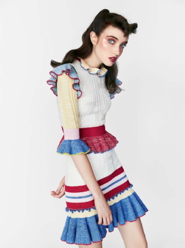 knitGrandeur: Trend Watch, Ruffled