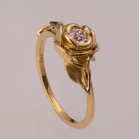 CULTURE N LIFESTYLE  Exquisite Leaves & Rose Shaped Gold ...