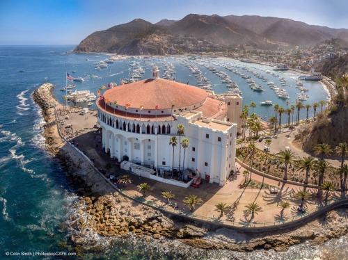 speeding54:  by Colin Smith / Catalina Island by drone.