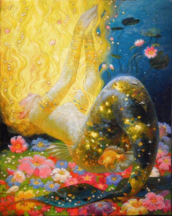 Victor Nizovtsev Mermaid Art