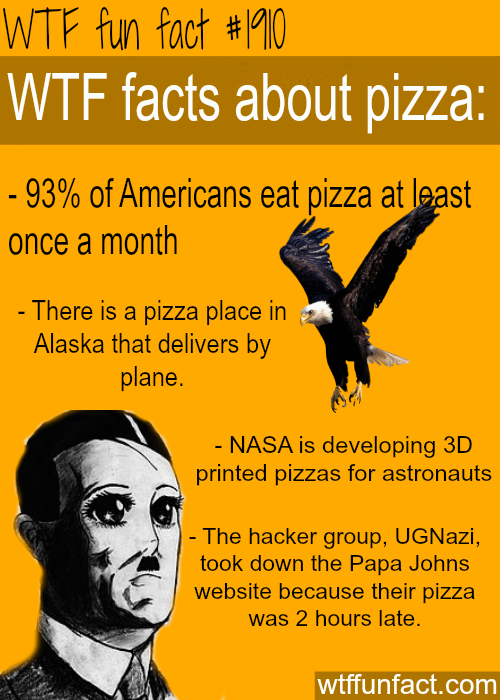 Facts About Pizza  Wtf Fun Facts