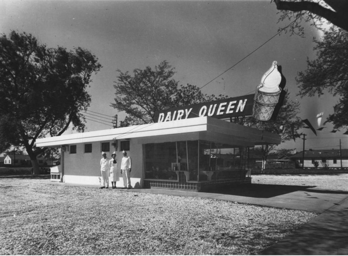 Dairy Queen - New Orleans, Louisiana U.S.A. - 1960s