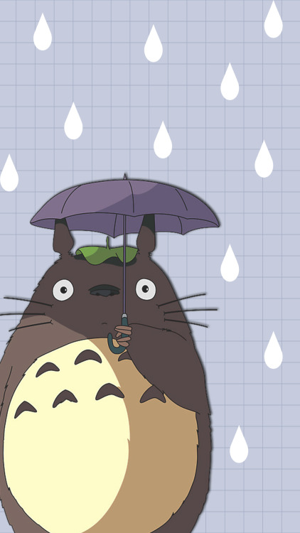 Aesthetic Wallpaper Iphone Totoro On Tumblr
