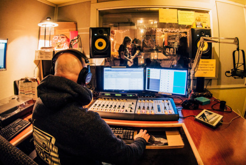 More shots of the live-in-studio set by The Prids, who were guests on KRBX's Sunday Soul Party with DJ Dusty C. AS