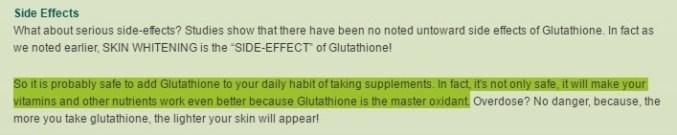 glutathione giúp đẹp da