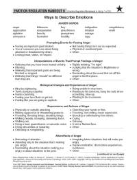 Emotion Regulation Worksheet. Worksheets. Ratchasima