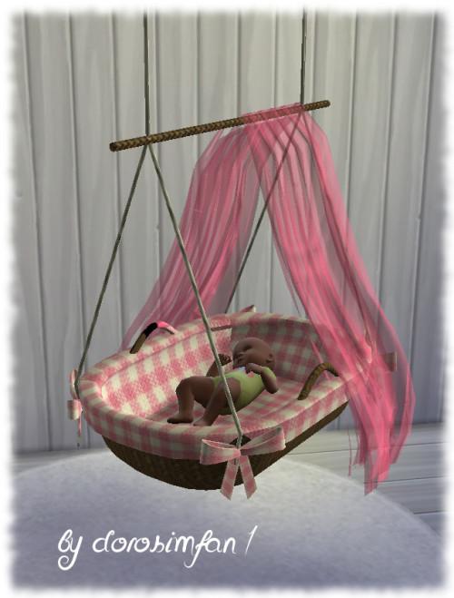 Lana CC Finds  Baby Hngewiege  Webdisk  Sims Marktplatz