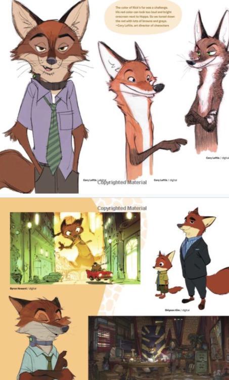 Zootopia Concept Art Tumblr
