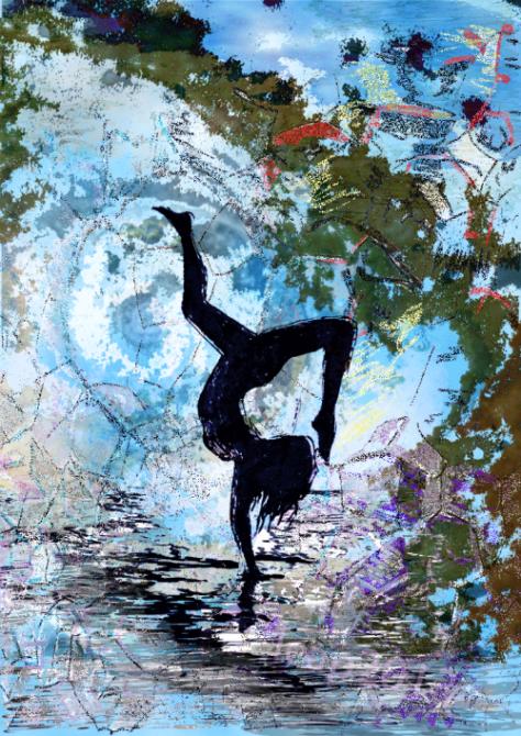 cartwheeling through the universe