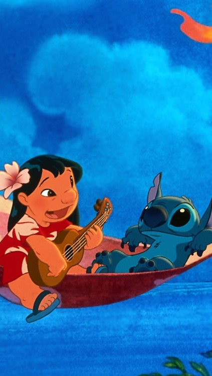 Guitar Girl Wallpaper Iphone Lilo And Stitch Background Tumblr