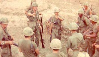 Battalion aid station at LZ Bronco, circa 1969  – Vietnam War