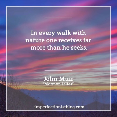 "#200 - ""In every walk with nature one receives far more than he seeks."" -John Muir 
