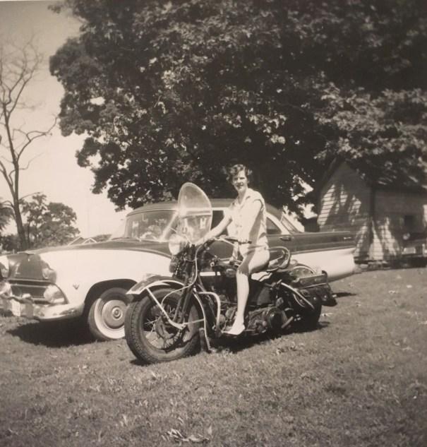 Girl rides on motorbike 1955 history girl rides on motorbike 1955 fandeluxe Gallery
