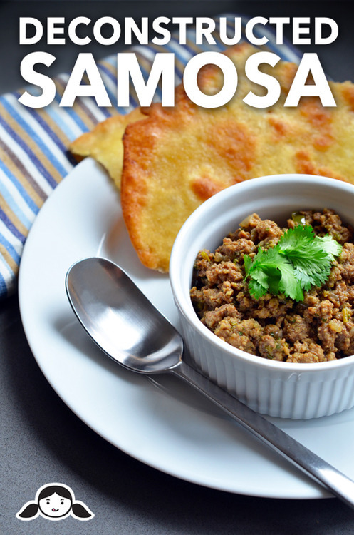 Image result for deconstructed samosa