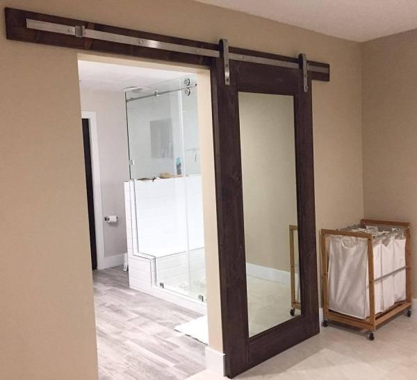 Barn Door Full Length Mirror