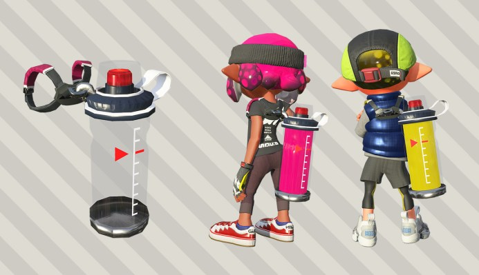 The indispensable ink tank also seems to have been reworked. New materials and an improved form factor have made the tank lighter and more durable. These Inklings sure have stepped up their tech in the last two years!