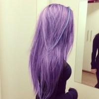 purple pastel hair on Tumblr