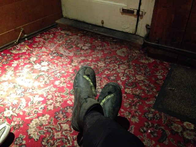 Post ride pub carpet