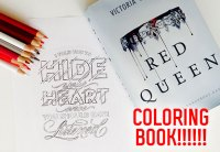 Epic Reads  A Red Queen Coloring Book is Officially...
