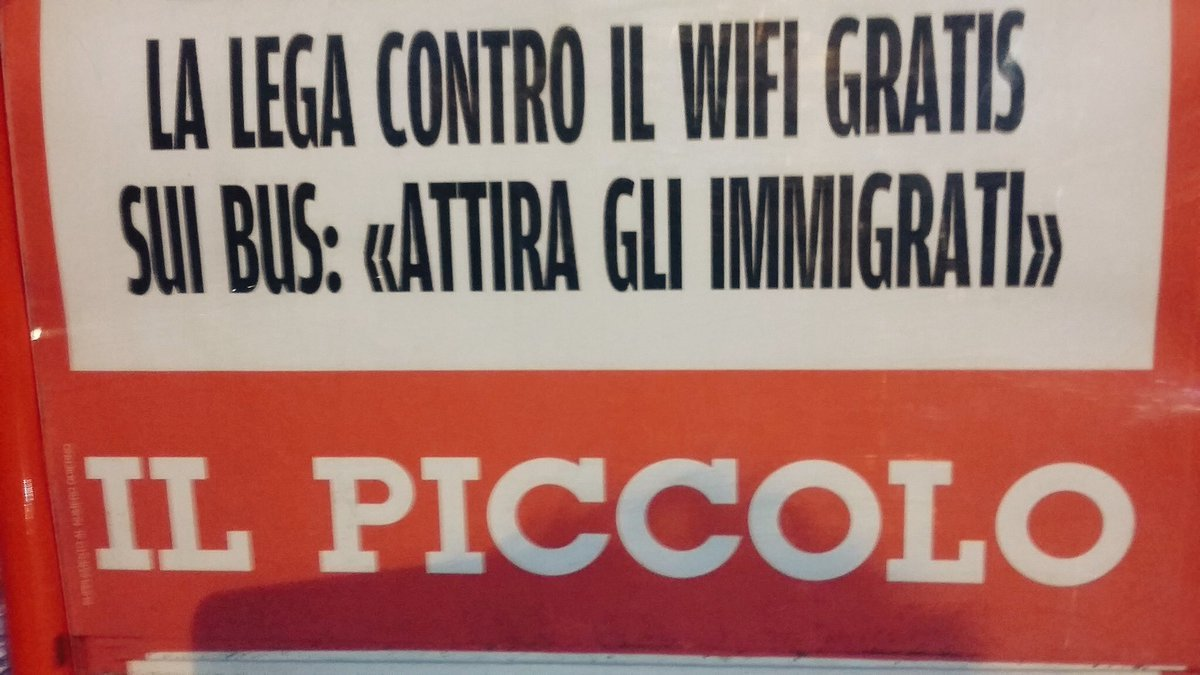 E non è @lercionotizie (quelli della #legamerda bisogna togliergli la cittadinanza italiana)