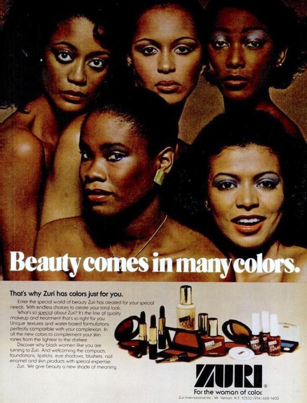 Image result for zuri makeup 1970s