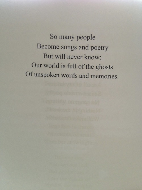 Bilderesultat for poem from a book tumblr