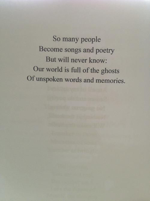 Bilderesultat for poem from a book tumblr