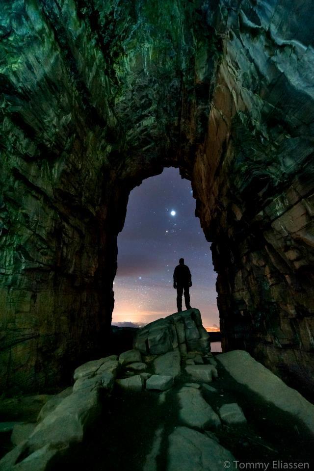 Kirkhelleren Cave